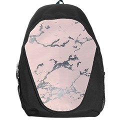 Luxurious Pink Marble 1 Backpack Bag