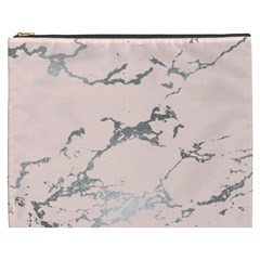 Luxurious Pink Marble 1 Cosmetic Bag (xxxl)  by tarastyle