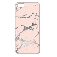 Luxurious Pink Marble 1 Apple Seamless Iphone 5 Case (clear)