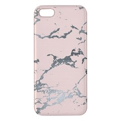 Luxurious Pink Marble 1 Apple Iphone 5 Premium Hardshell Case by tarastyle
