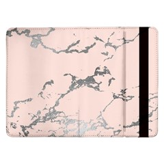 Luxurious Pink Marble 1 Samsung Galaxy Tab Pro 12 2  Flip Case