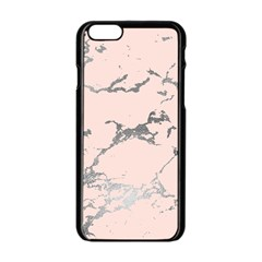 Luxurious Pink Marble 1 Apple Iphone 6/6s Black Enamel Case by tarastyle