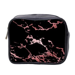 Luxurious Pink Marble 2 Mini Toiletries Bag 2 Side by tarastyle