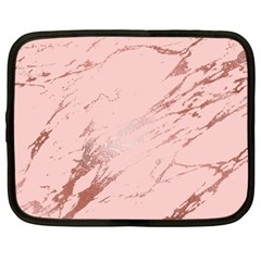 Luxurious Pink Marble 3 Netbook Case (xxl)  by tarastyle