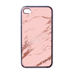 Luxurious Pink Marble 3 Apple Iphone 4 Case (black) by tarastyle