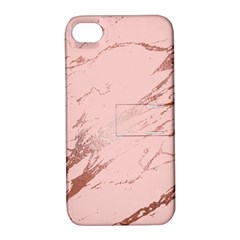 Luxurious Pink Marble 3 Apple Iphone 4/4s Hardshell Case With Stand by tarastyle