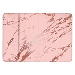 Luxurious Pink Marble 3 Samsung Galaxy Tab 8 9  P7300 Flip Case by tarastyle