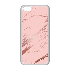 Luxurious Pink Marble 3 Apple Iphone 5c Seamless Case (white) by tarastyle