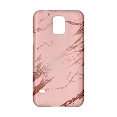 Luxurious Pink Marble 3 Samsung Galaxy S5 Hardshell Case  by tarastyle