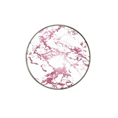 Luxurious Pink Marble 4 Hat Clip Ball Marker (10 Pack) by tarastyle