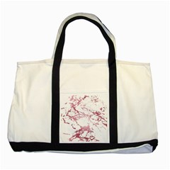 Luxurious Pink Marble 4 Two Tone Tote Bag by tarastyle