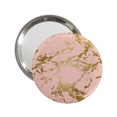 Luxurious Pink Marble 5 2 25  Handbag Mirrors by tarastyle