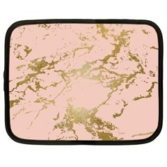 Luxurious Pink Marble 5 Netbook Case (xxl)  by tarastyle