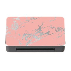 Luxurious Pink Marble 6 Memory Card Reader With Cf by tarastyle