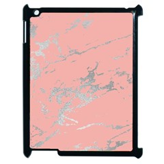 Luxurious Pink Marble 6 Apple Ipad 2 Case (black) by tarastyle