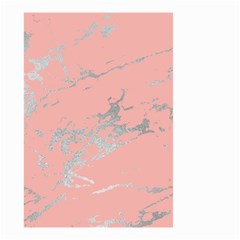 Luxurious Pink Marble 6 Small Garden Flag (two Sides) by tarastyle