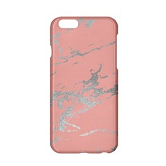 Luxurious Pink Marble 6 Apple Iphone 6/6s Hardshell Case