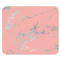 Luxurious Pink Marble 6 Double Sided Flano Blanket (small)  by tarastyle