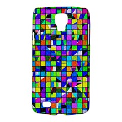 Colorful Squares Pattern                       Samsung Galaxy Ace 3 S7272 Hardshell Case by LalyLauraFLM