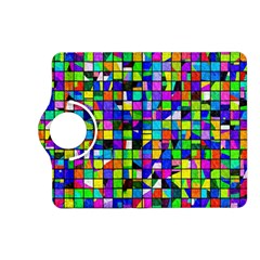 Colorful Squares Pattern                       Samsung Galaxy Note 3 Soft Edge Hardshell Case by LalyLauraFLM