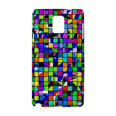 Colorful Squares Pattern                       Apple Iphone 6 Plus/6s Plus Leather Folio Case by LalyLauraFLM