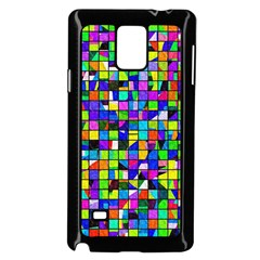 Colorful Squares Pattern                       Samsung Galaxy Note 4 Case (color) by LalyLauraFLM