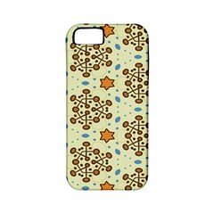 Stars And Other Shapes Pattern                         Apple Iphone 4/4s Hardshell Case (pc+silicone) by LalyLauraFLM