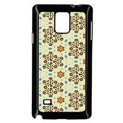 Stars And Other Shapes Pattern                         Samsung Galaxy Note 4 Case (color) by LalyLauraFLM