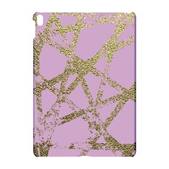 Modern,abstract,hand Painted, Gold Lines, Pink,decorative,contemporary,pattern,elegant,beautiful Apple Ipad Pro 10 5   Hardshell Case by 8fugoso