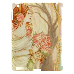 Beautiful Art Nouveau Lady Apple Ipad 3/4 Hardshell Case (compatible With Smart Cover) by 8fugoso