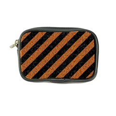 Stripes3 Black Marble & Rusted Metal (r) Coin Purse by trendistuff