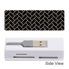 Brick2 Black Marble & Sand (r) Memory Card Reader (stick)