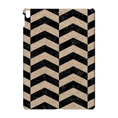 Chevron2 Black Marble & Sand Apple Ipad Pro 10 5   Hardshell Case by trendistuff