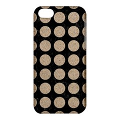 Circles1 Black Marble & Sand (r) Apple Iphone 5c Hardshell Case by trendistuff