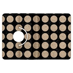 Circles1 Black Marble & Sand (r) Kindle Fire Hdx Flip 360 Case