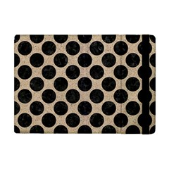 Circles2 Black Marble & Sand Apple Ipad Mini Flip Case by trendistuff