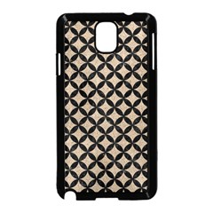Circles3 Black Marble & Sand Samsung Galaxy Note 3 Neo Hardshell Case (black) by trendistuff