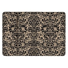 Damask2 Black Marble & Sand Samsung Galaxy Tab 8 9  P7300 Flip Case by trendistuff