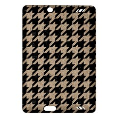Houndstooth1 Black Marble & Sand Amazon Kindle Fire Hd (2013) Hardshell Case by trendistuff