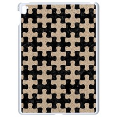 Puzzle1 Black Marble & Sand Apple Ipad Pro 9 7   White Seamless Case by trendistuff
