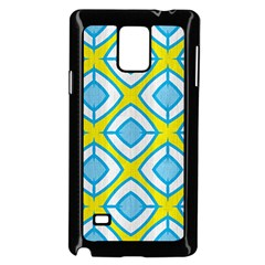Blue Rhombus Pattern                          Samsung Galaxy Note 4 Case (color) by LalyLauraFLM