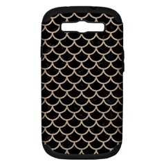 Scales1 Black Marble & Sand (r) Samsung Galaxy S Iii Hardshell Case (pc+silicone) by trendistuff