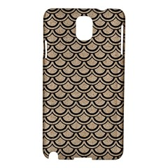 Scales2 Black Marble & Sand Samsung Galaxy Note 3 N9005 Hardshell Case