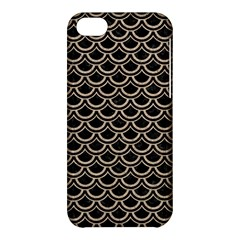 Scales2 Black Marble & Sand (r) Apple Iphone 5c Hardshell Case by trendistuff