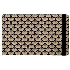 Scales3 Black Marble & Sand Apple Ipad Pro 12 9   Flip Case by trendistuff