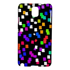 Colorful Rectangles On A Black Background                           Nokia Lumia 928 Hardshell Case by LalyLauraFLM
