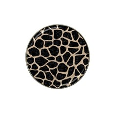 Skin1 Black Marble & Sand Hat Clip Ball Marker (10 Pack) by trendistuff