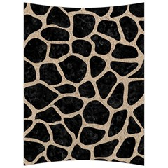 Skin1 Black Marble & Sand Back Support Cushion by trendistuff