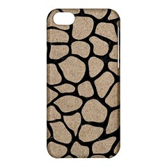 Skin1 Black Marble & Sand (r) Apple Iphone 5c Hardshell Case by trendistuff