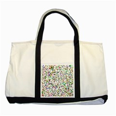 Paint On A White Background                                  Two Tone Tote Bag by LalyLauraFLM